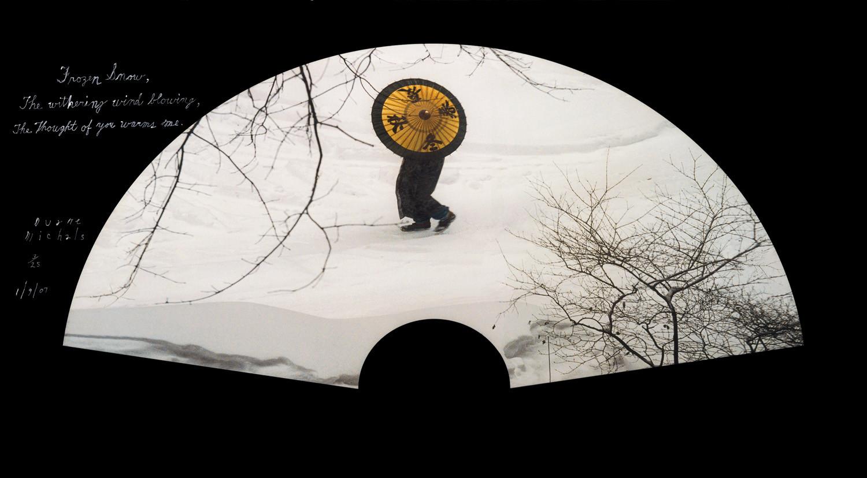 Duane Michals, Frozen Snow, 1/9/07