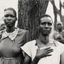 Fazal Sheikh, Ajoh Achot and Achol Manyen, Sudanese refugee camp, Lokichoggio, Kenya, 1992
