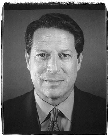 Chuck Close, Al Gore, 2000