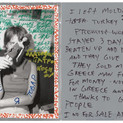 Jim Goldberg, 14 Year Old Moldavian Girl, Greece, 2004