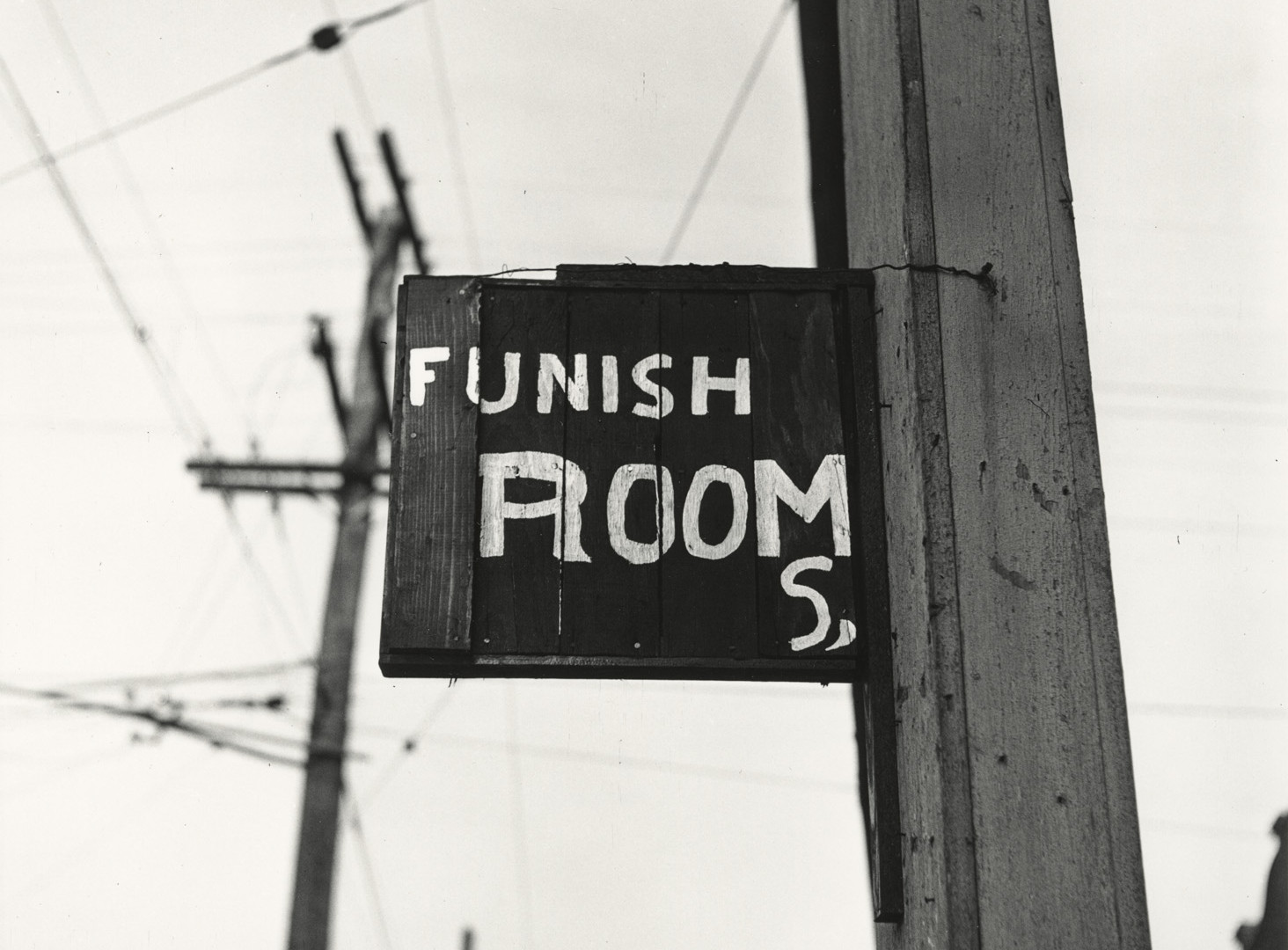 Irving Penn, Funish Rooms, American South, 1941