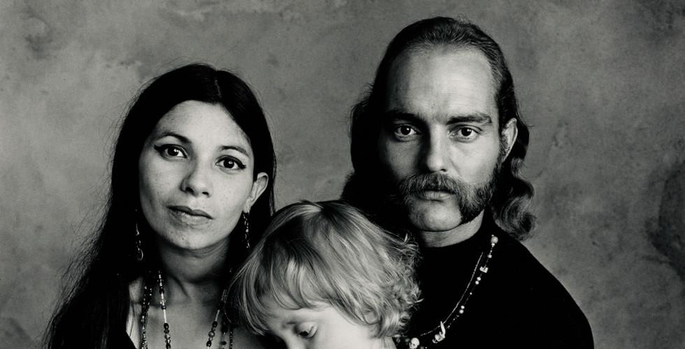 Irving Penn, Hippie Family (Ferguson), San Francisco, 1967