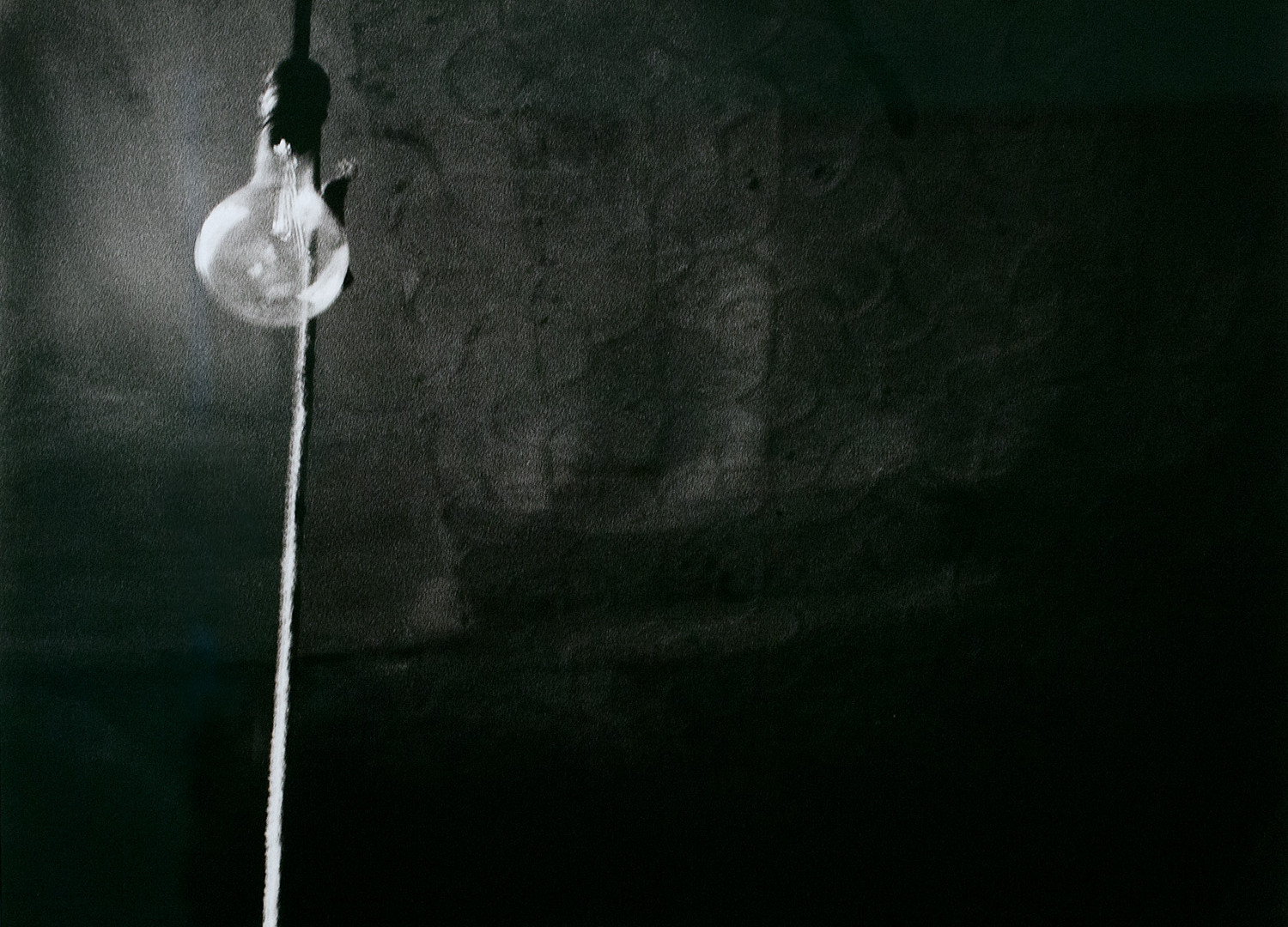 Robert Rauschenberg, Ceiling + Light Bulb, 1950