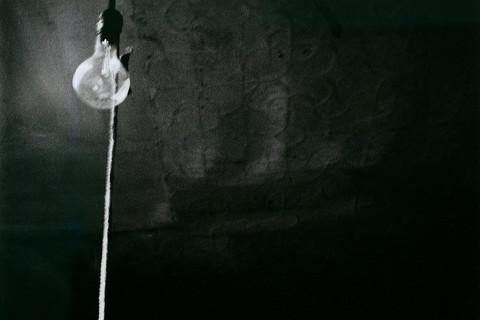 Robert Rauschenberg, Ceiling + Light Bulb, 1950