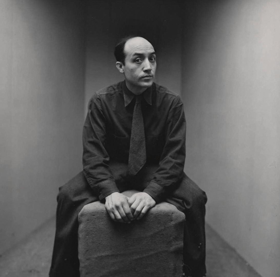 Irving Penn, Isamu Noguchi (2 of 2), New York, 1947