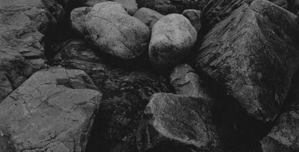 Harry Callahan, Bass Rocks, 1963