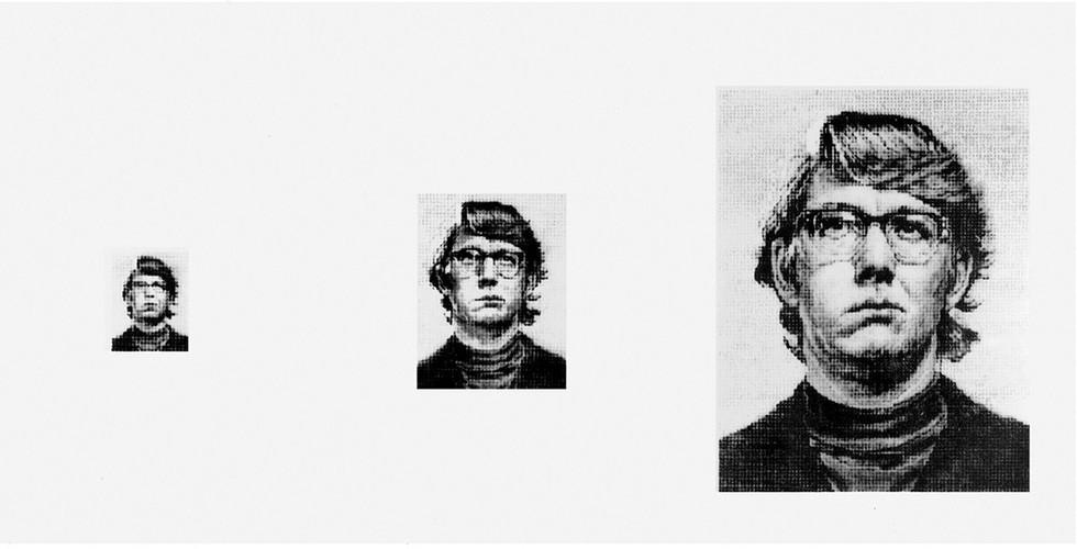 Chuck Close, Keith/4 Times, 1978