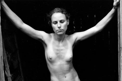 Emmet Gowin, Edith, Danville, Virginia, 1973