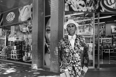 David Goldblatt, Kapou Maaneveld where he robbed a man on Darling Street, Cape Town in 1987, 23 January 2010