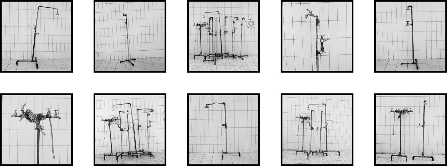 Yto Barrada, Plumber Assemblage, Fig. 1 - 10, Tangier, 2014