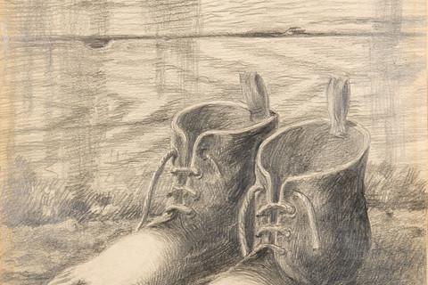 René Magritte (Belgian, 1898-1967), Le Modele Rouge, c. 1935