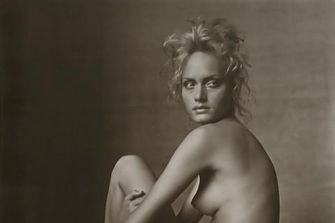 Irving Penn, Amber Valetta (B), New York, 1996