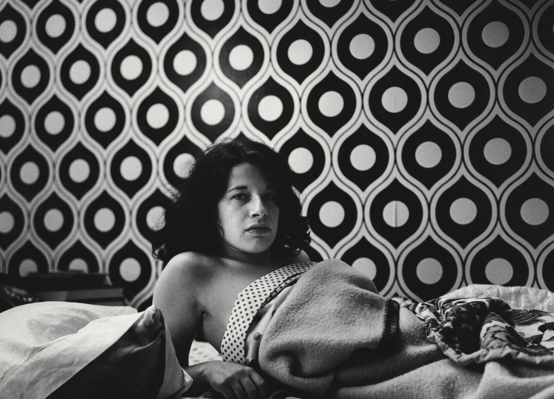 Peter Hujar, Fran Lebowitz (at home in Morristown), 1974