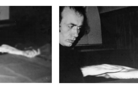 Vito Acconci, Rubbing Piece, 1970