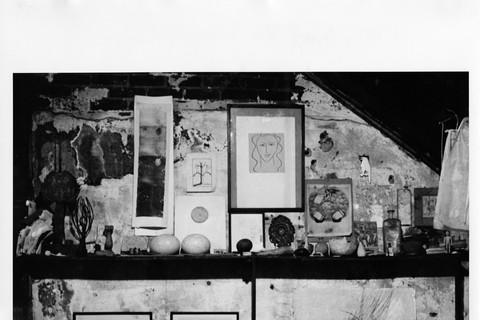 Robert Rauschenberg, Fulton Street Studio, N.Y.C., 1951