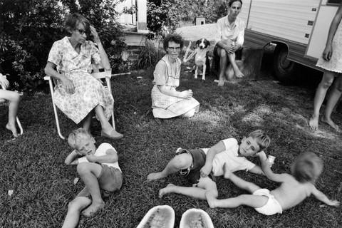 Emmet Gowin, Family, Danville, Virginia, 1970