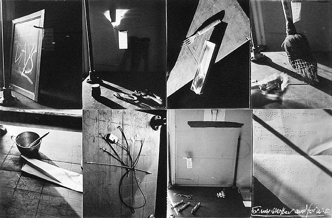Robert Frank, Tools - For my Mother and for W.E., 1999-2000