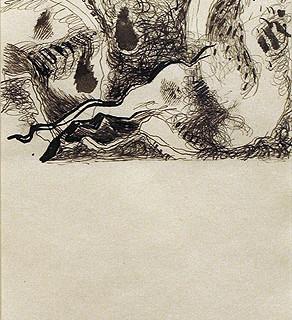 Jackson Pollock, Untitled, c. 1952-56
