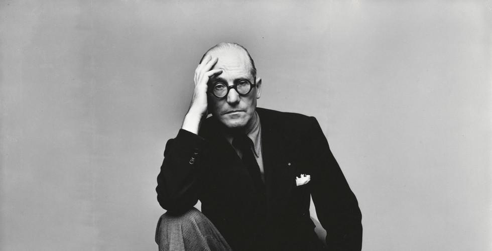 Irving Penn, Le Corbusier (1 of 2), New York, 1947