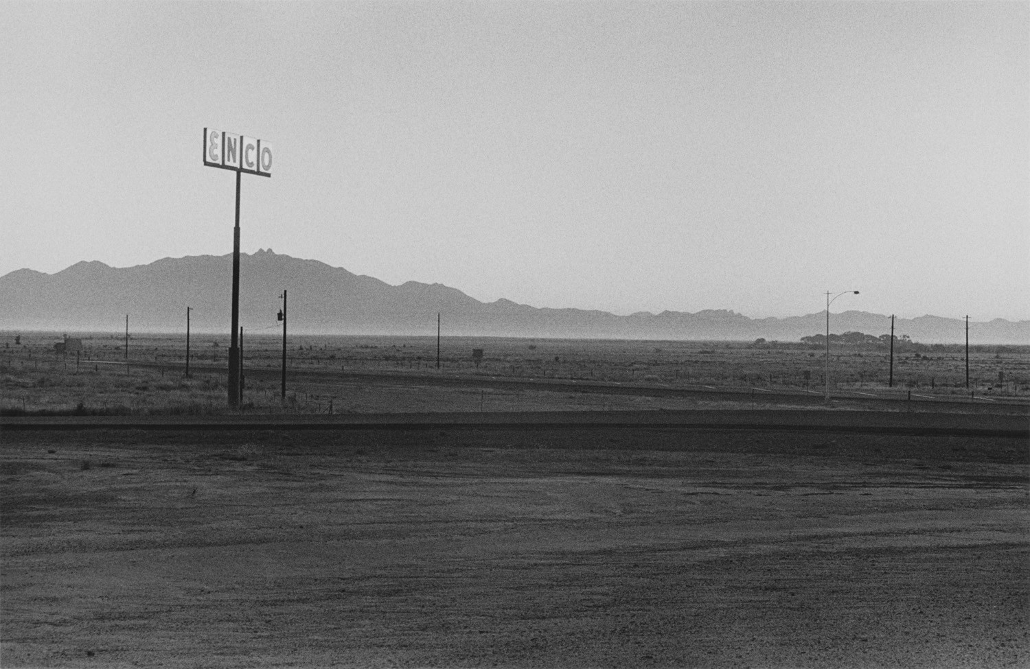 Henry Wessel, Southwest, 1968