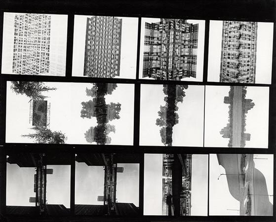 Harry Callahan, Contact Sheet, Chicago, 1953