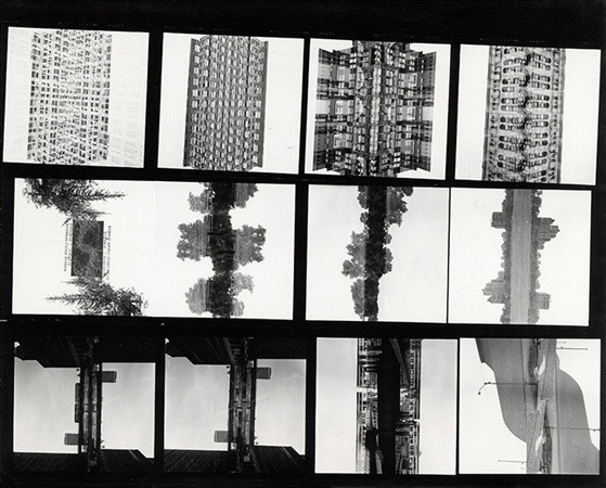 Harry Callahan, Contact Sheet, Chicago, 1953