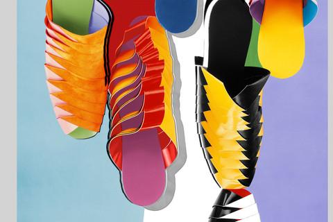 Hiro, Paper Shoes, New York, 1967