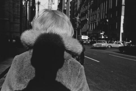 Lee Friedlander, Shadow, New York, 1966