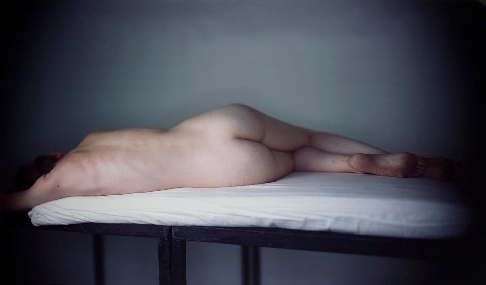 Richard Learoyd, Phie Nude Back, 2011