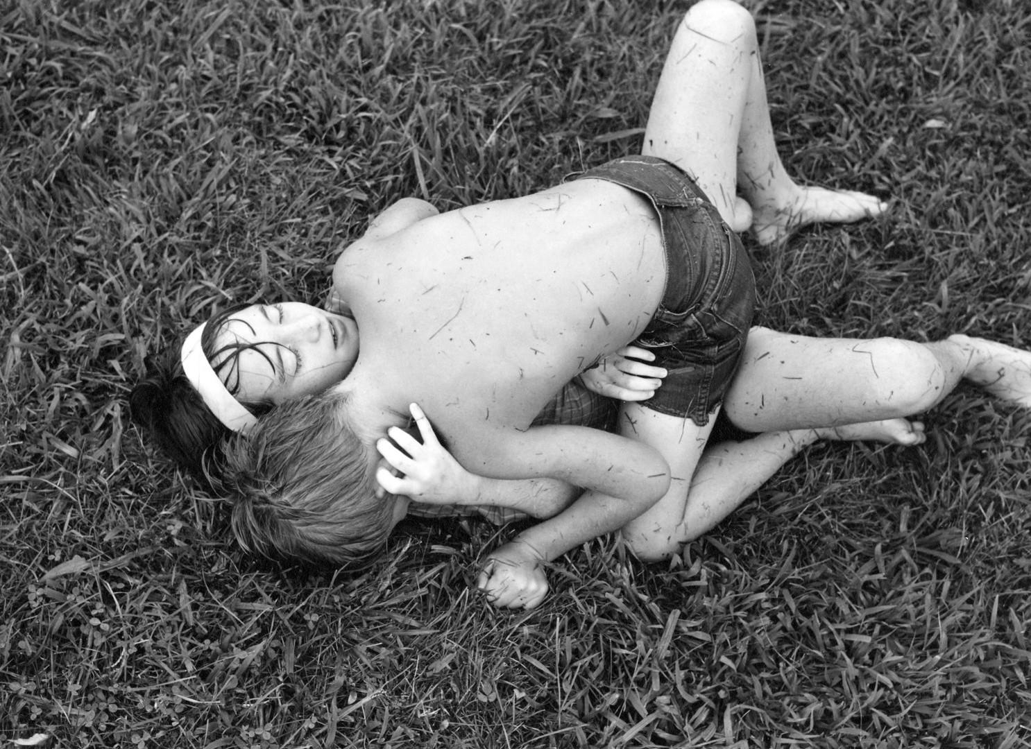Emmet Gowin, Nancy and Dwayne, Danville, Virginia, 1970