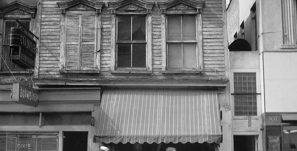 Robert Rauschenberg, Charleston Street, 1952