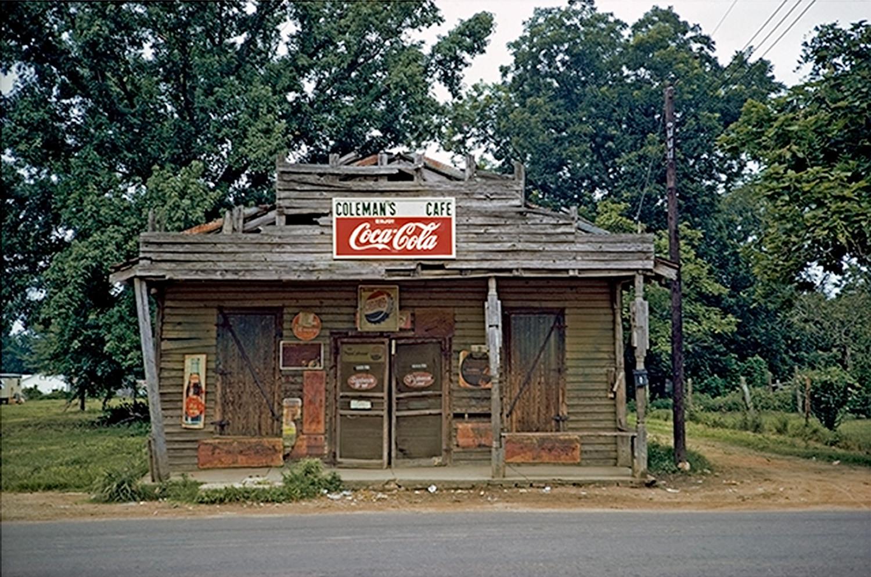 William Christenberry, Coleman's Cafe, Greensboro, Alabama, 1973