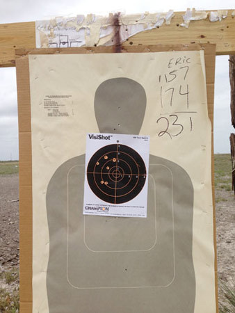 Richard Misrach, Border Patrol target #7, near Gulf of Mexico, Texas / Blanco de la Patrulla Fronteriza no. 7, cerca del golfo de México, Texas, 2013