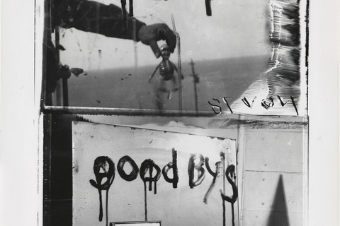 Robert Frank, Sick of Goodby's, Mabou, 1978