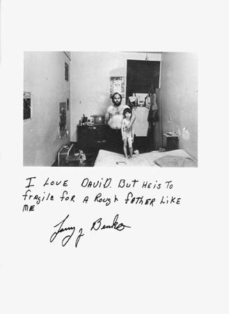 Jim Goldberg, Untitled (I love David ...), 1979
