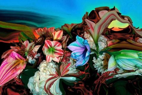 Lucas Samaras, Sunset Bouquet 1, 2002-2004