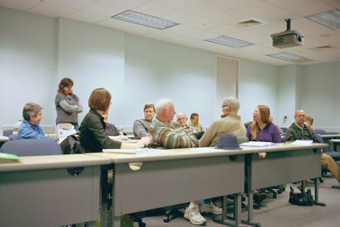 Judith Joy Ross, First local meeting of the Pennsylvania Community Rights Network, Bethlehem, Pennsylvania, July 21, 2011