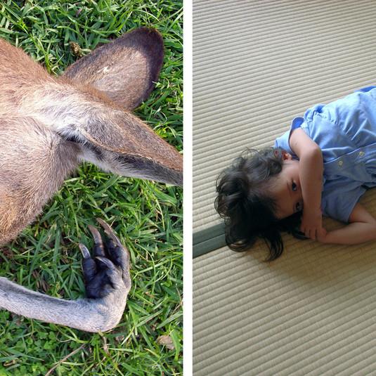 Yoshitomo Nara, Nap time / Nap time, 2008