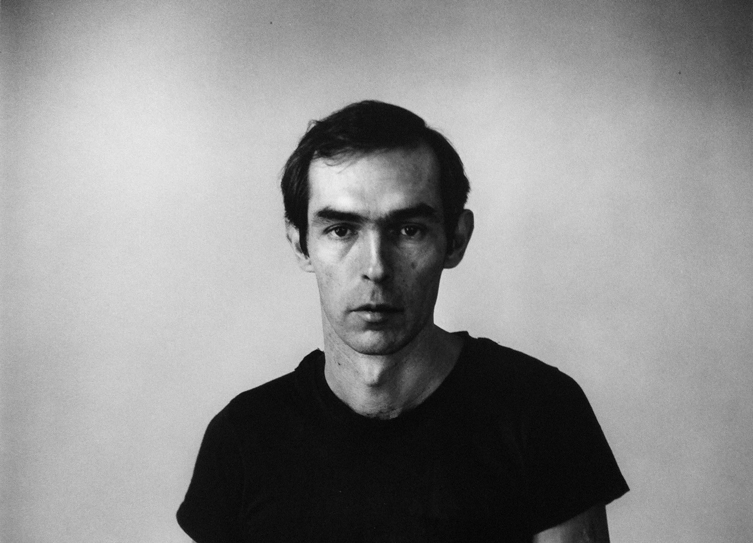 Peter Hujar, Self-Portrait in Black T-Shirt, 1976