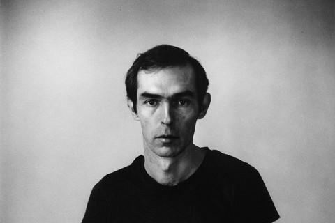 Peter Hujar, Self-Portrait in Black T-Shirt, 1976