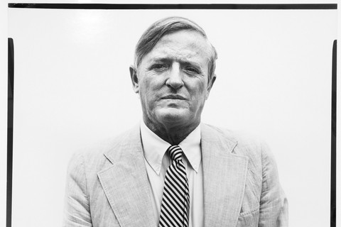 Richard Avedon, William F. Buckley, Jr., columnist, New York City, July 22, 1975