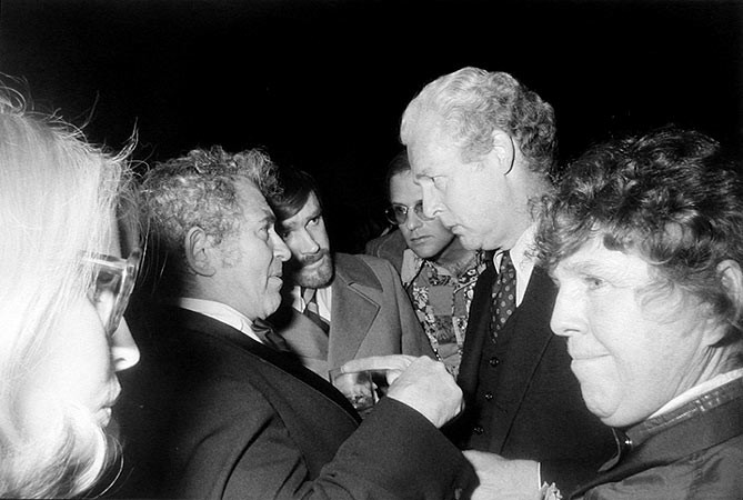 Garry Winogrand, Party, Norman Mailer's Fiftieth Birthday, New York, 1973