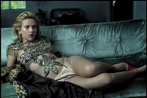 Annie Leibovitz, Scarlett Johansson, Los Angeles, 2004