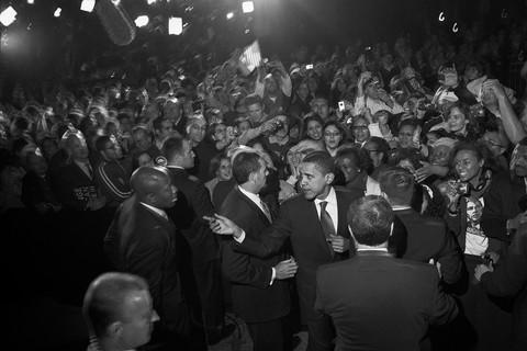 Larry Fink, Barack Obama, 2008