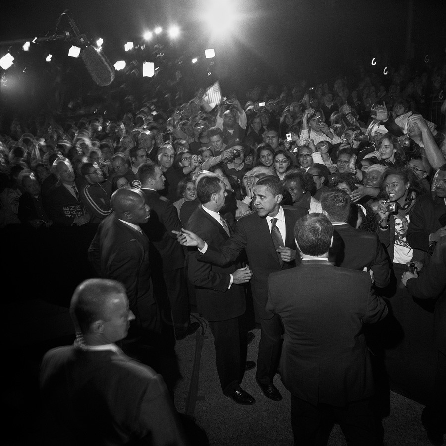 Larry Fink, Barack Obama, 2008