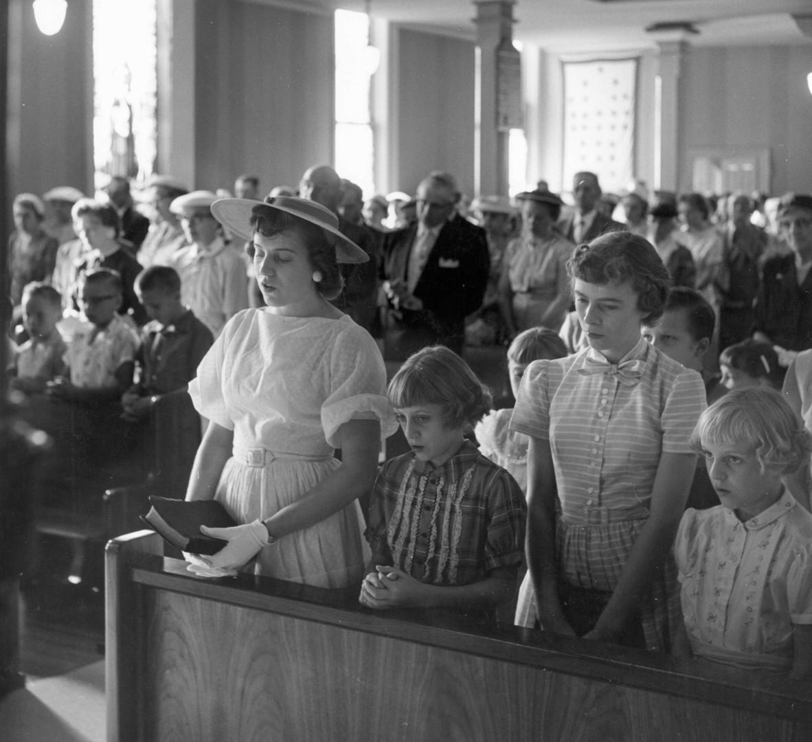 John Szarkowski, Immanuel Lutheran Church, Courtland, Minnesota, 1957