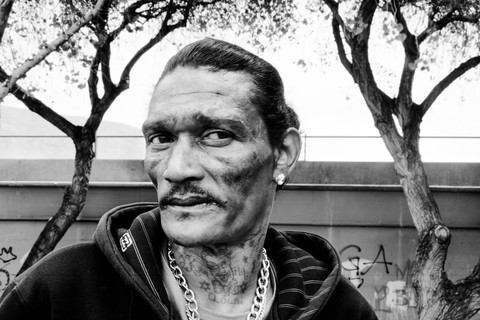 David Goldblatt, Blitz Maaneveld at the Terrace, Woodstock, Cape Town, where he murdered a man with whom he had been gambling, 7 October 2008