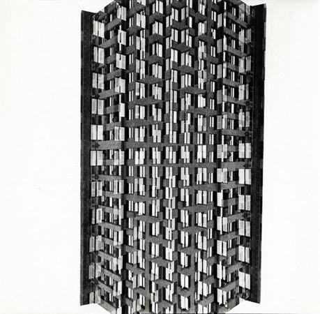 Harry Callahan, Skyscraper, Chicago, 1953