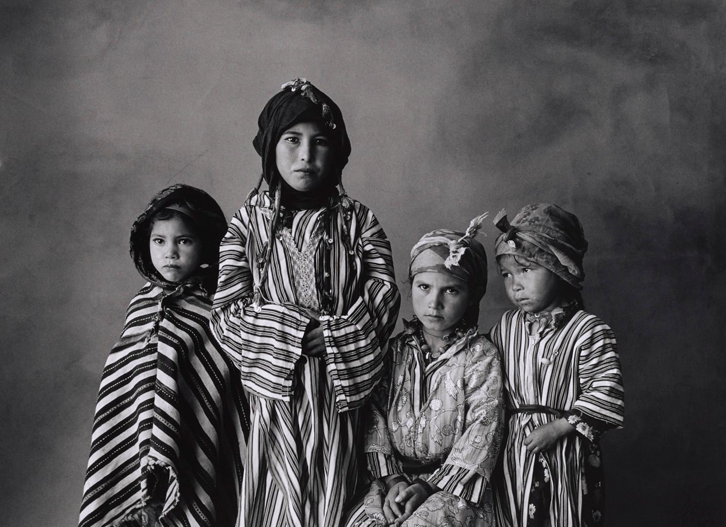 Irving Penn, Four Girl Children, Morocco, 1971