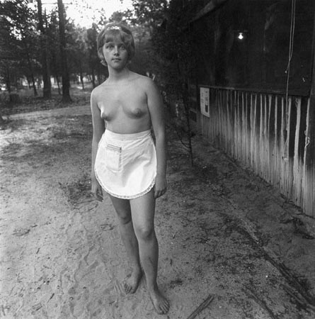 Diane Arbus, Waitress, Nudist Camp, 1963